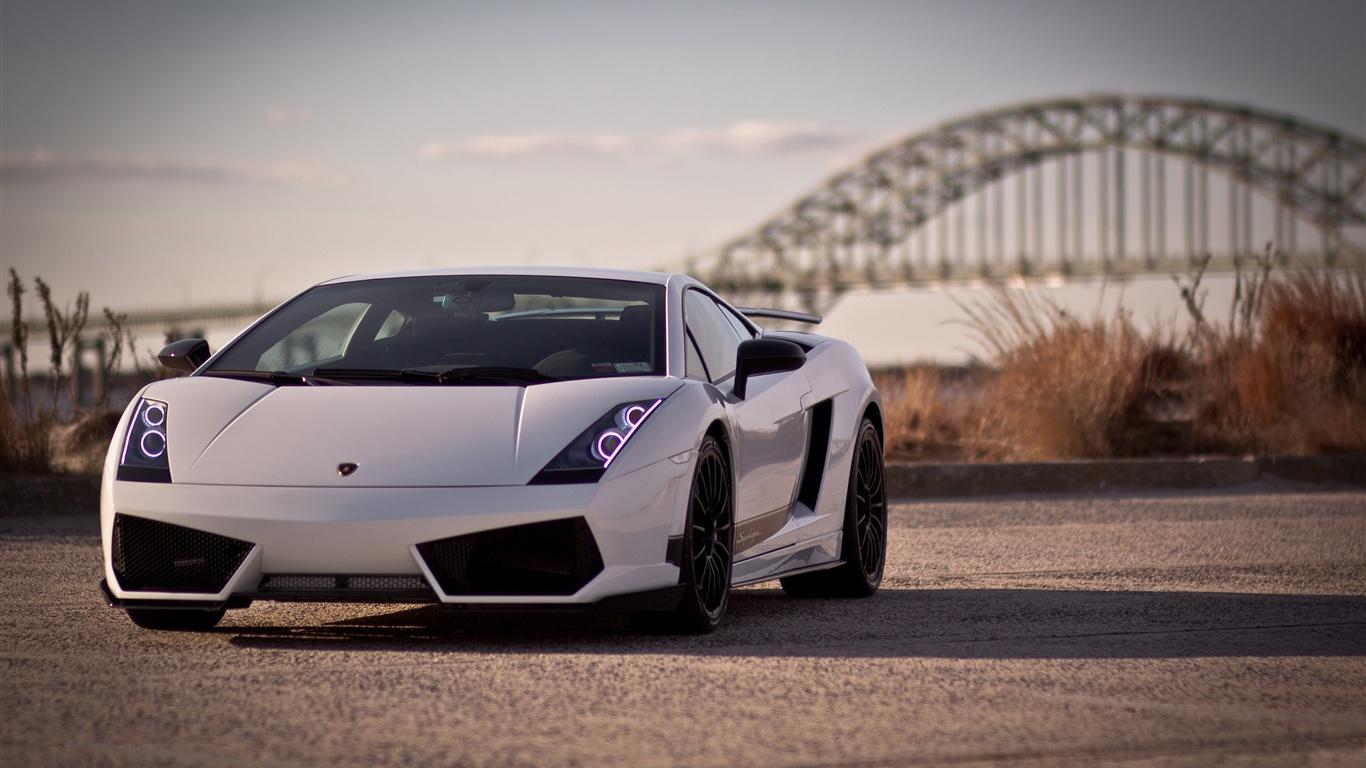 Hd wallpaper 1080p - Lamborghini Gallardo Lp570 4 Close Up Photography