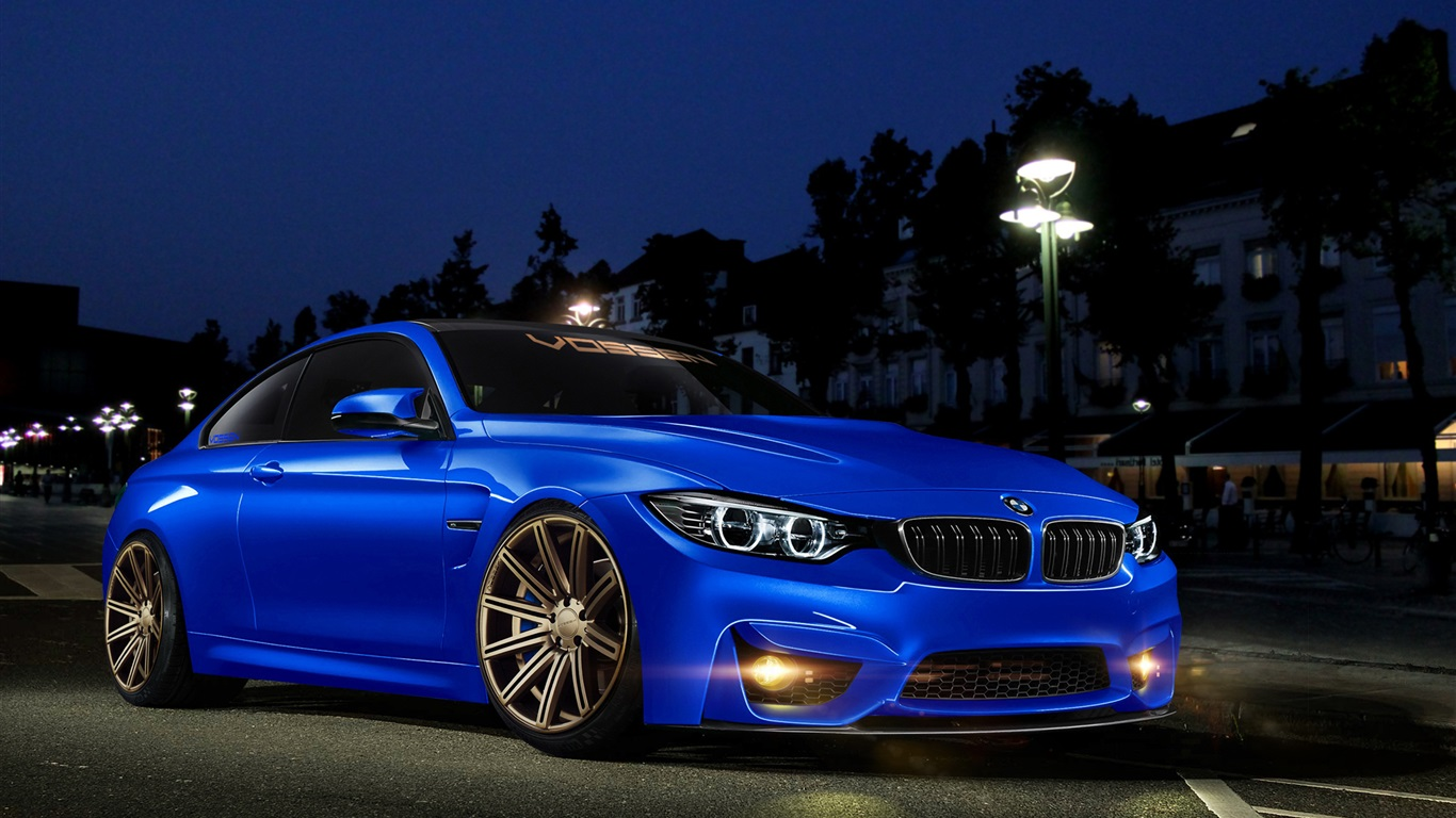 Wallpaper BMW 4 Series M4 blue car 2560x1600 HD Picture, Image