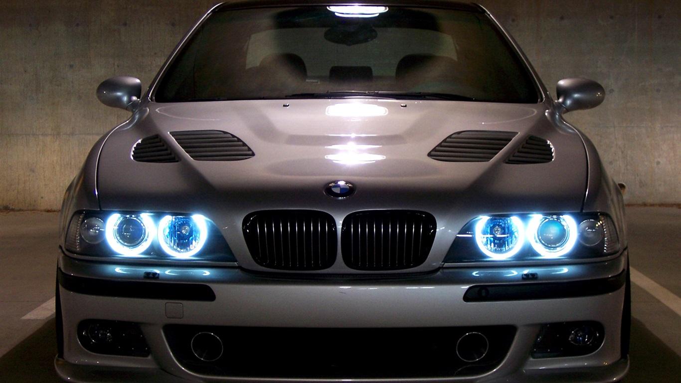 Bmw E39 M5 >> BMW E39 M5 blue angel eyes Wallpaper | 1366x768 resolution wallpaper download | Best-Wallpaper.Net