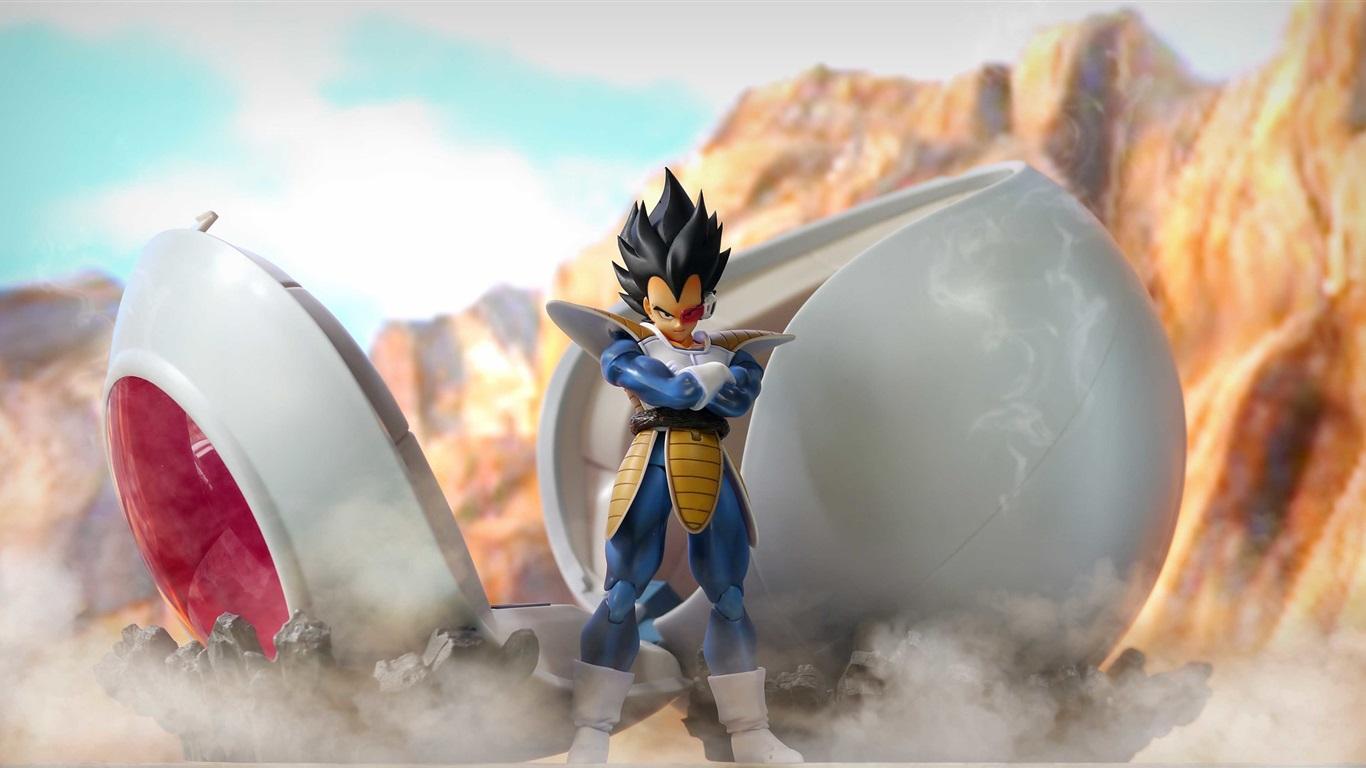 Wallpaper Dragon Ball Z Super Saiyan 3D Anime 2560x1440