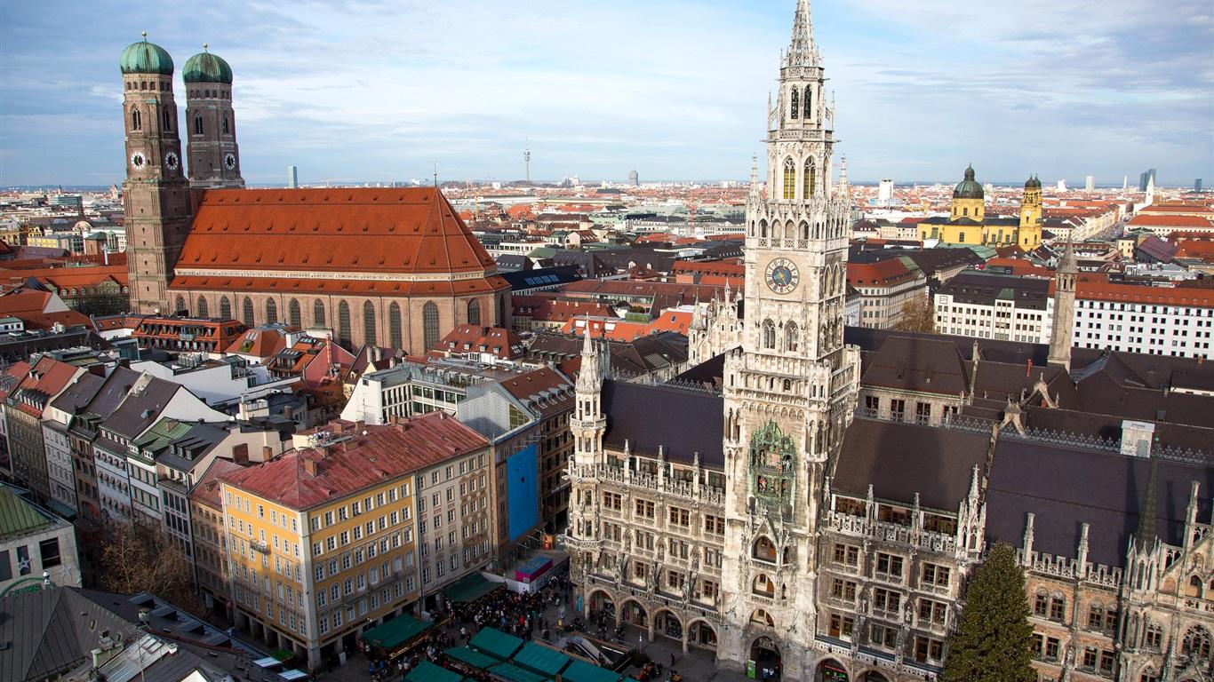 Обои мюнхен, здания, крыши, Munich, Germany, германия. Города foto 8