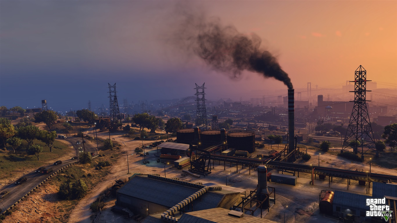 grand theft auto v gta game wallpaper 1366x768