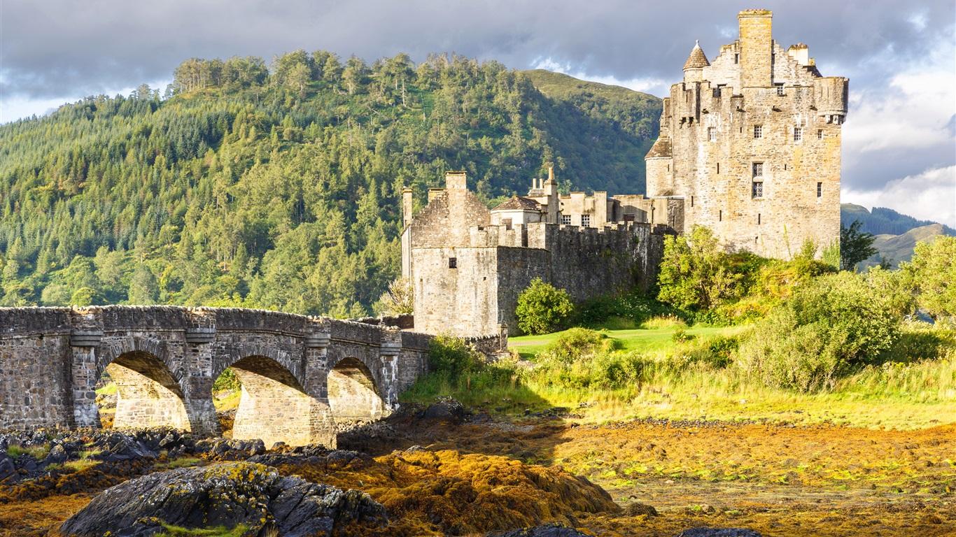 1366x768 eilean donan castle - photo #10