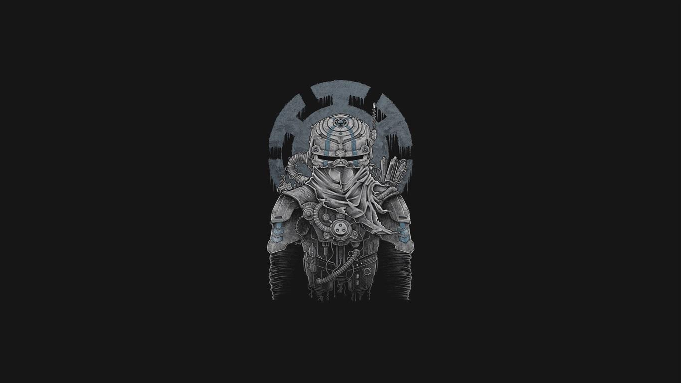 壁紙 忍者 アート 黒の背景 2560x1440 Qhd 無料のデスクトップの背景 画像