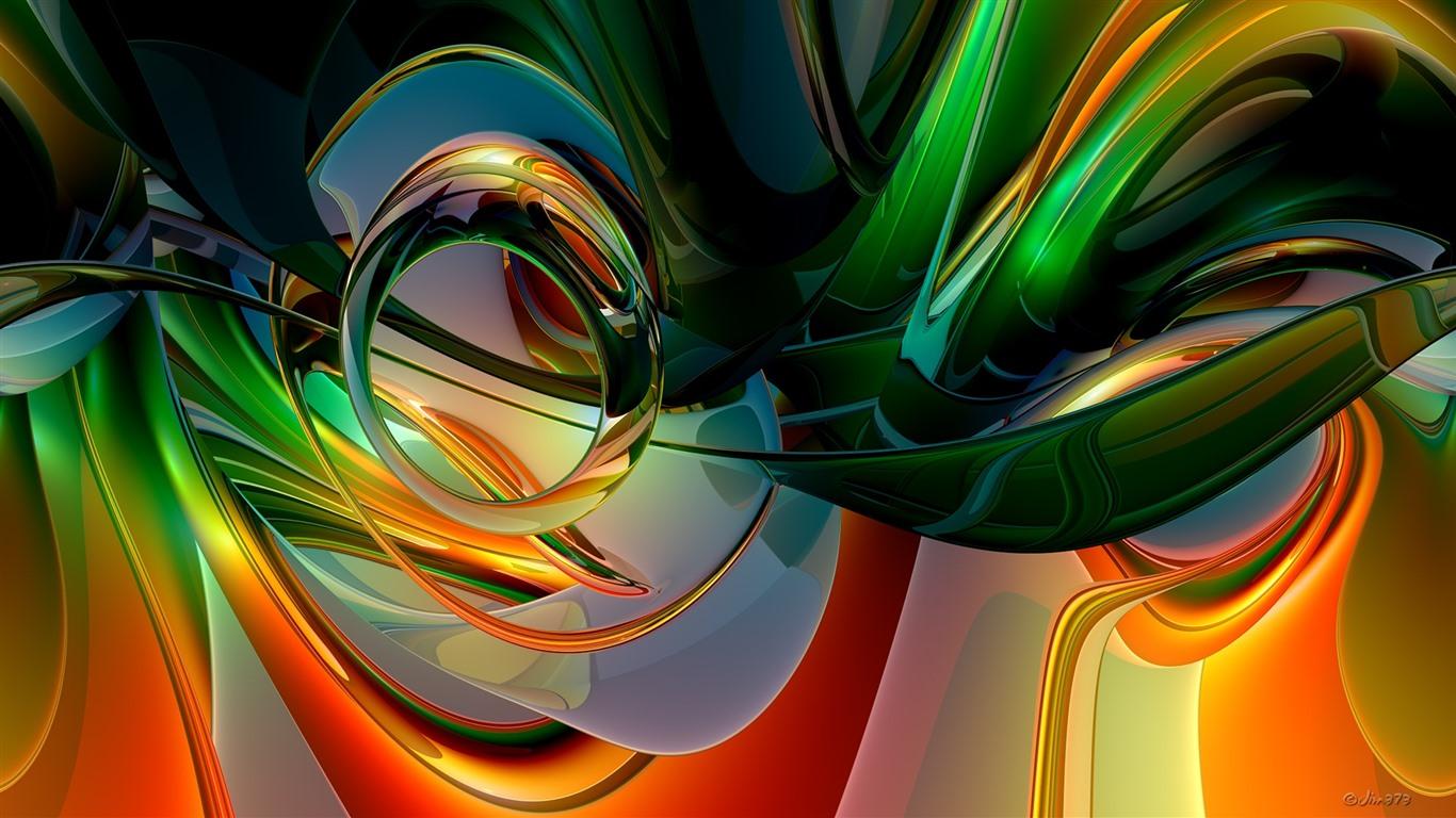 1920x1080 Abstracto Full Hd 1920x1080: Fondos De Pantalla Curvas Abstractas, Colorido, Arco Iris