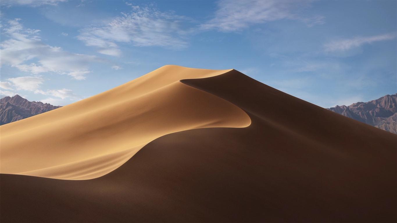 壁纸 沙漠,沙丘,蓝蓝的天空 3840x2160 UHD 4K 高清壁纸, 图片, 照片