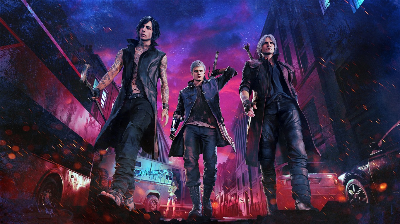 Wallpaper Devil May Cry 5 Ps4 Game 5120x2880 Uhd 5k Picture Image
