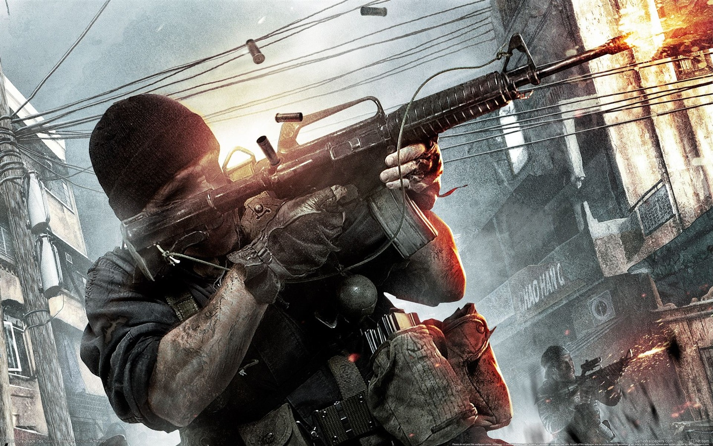 Call of Duty: Black Ops HD wallpaper 1440x900