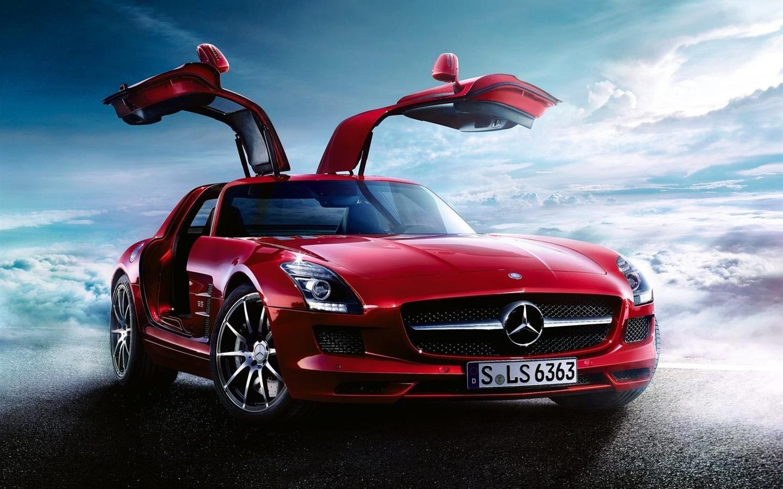 奔驰SLS AMG调整 1600x1200 HD 高清壁纸, 图片, 照片
