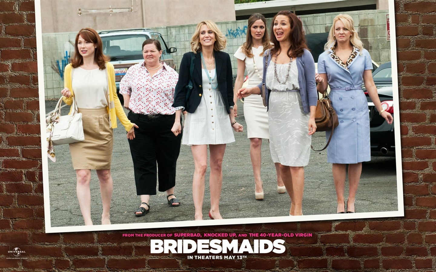 Kristen Wiig in Bridesmaids wallpaper - 1440x900