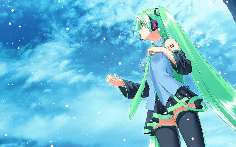 Hatsune Future Anime Girl 640x960 Iphone 4 4s Wallpaper