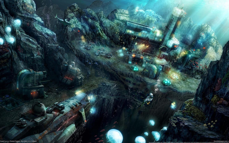纪元2070:深海 壁纸 - 1440x900