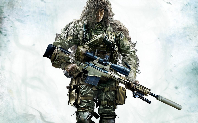 Pubg Wallpaper Ghillie Suit: 壁纸 狙击手:幽灵战士2,伪装的士兵 1920x1080 Full HD 2K 高清壁纸, 图片, 照片