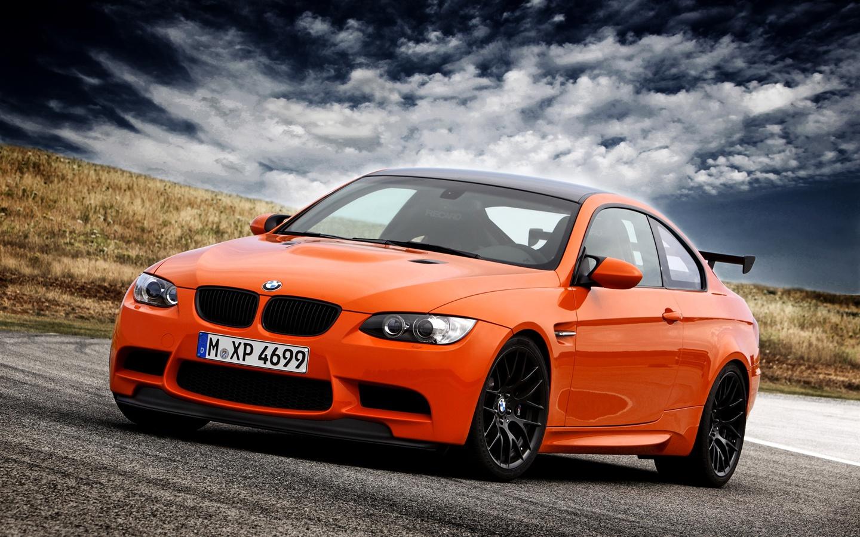 Wallpaper BMW M3 E92 Orange Supercar, Sky, Clouds 1920x1200 HD Picture,  Image