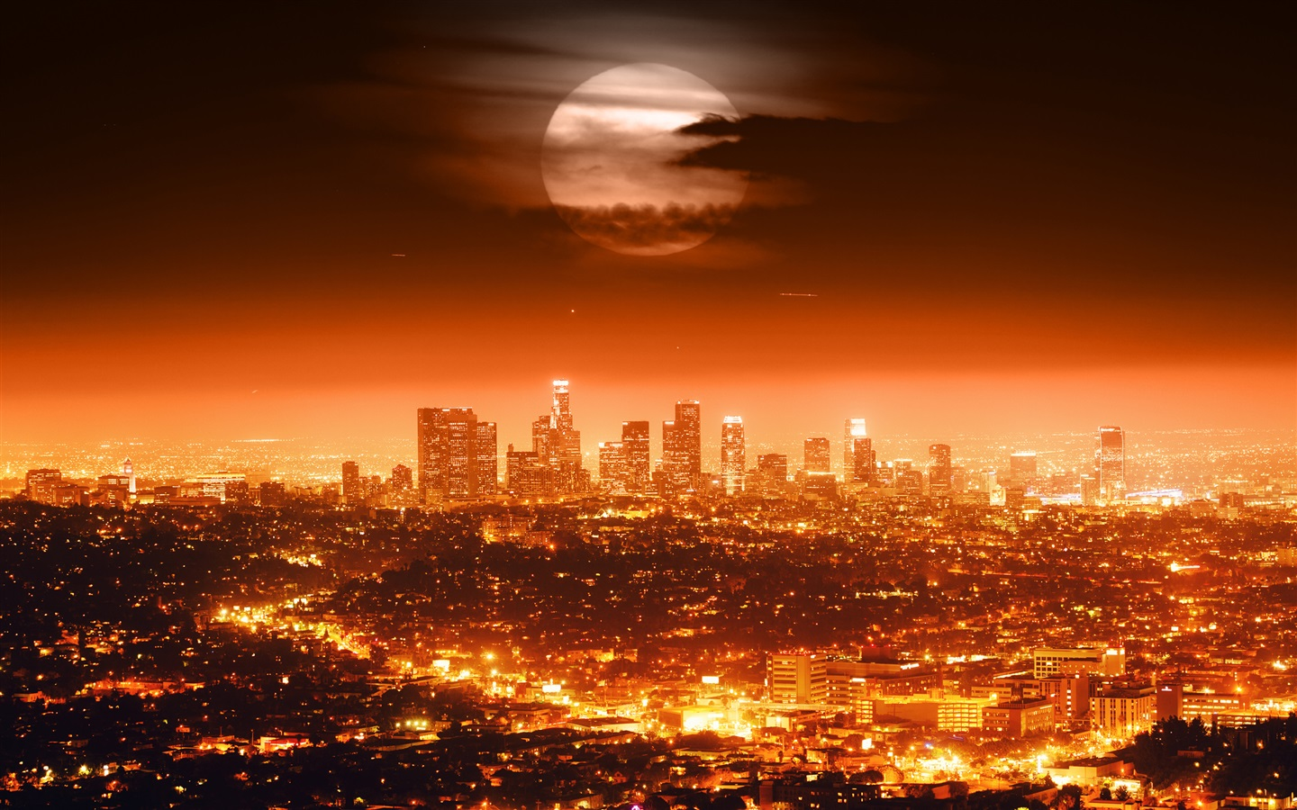 red moon los angeles - photo #10
