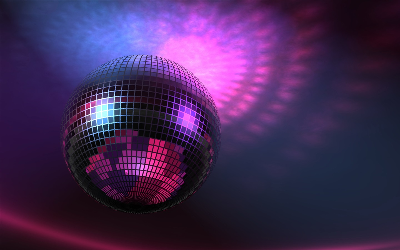 Luces m sica la bola de discoteca p rpura im genes en - Bola de discoteca de colores ...
