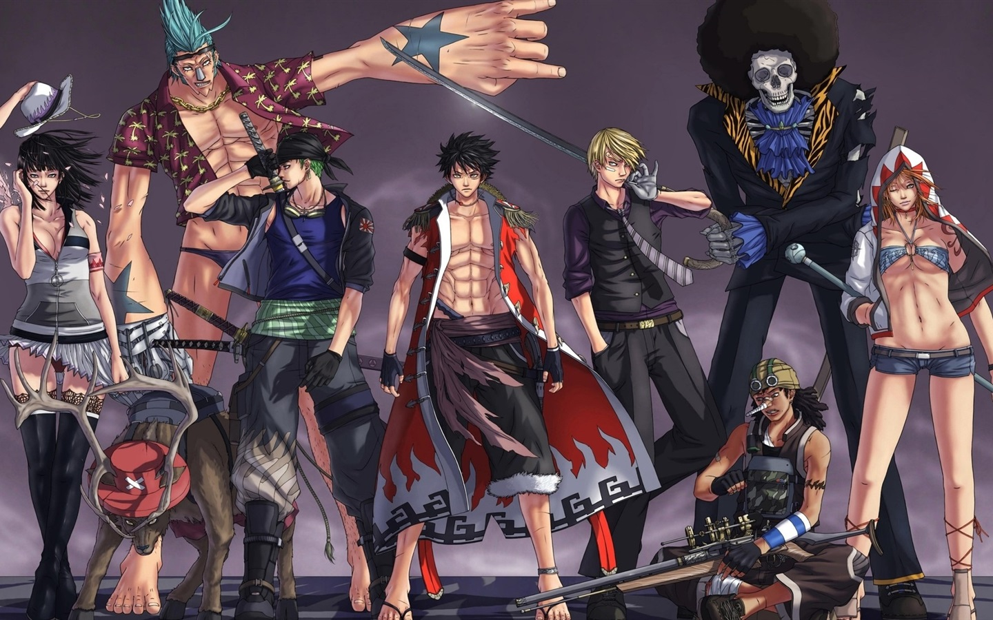 Wallpaper One Piece Japanese anime