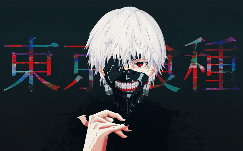 Fonds d'écran Tokyo Ghoul, garçon aux cheveux blancs, anime 1920x1200 HD image