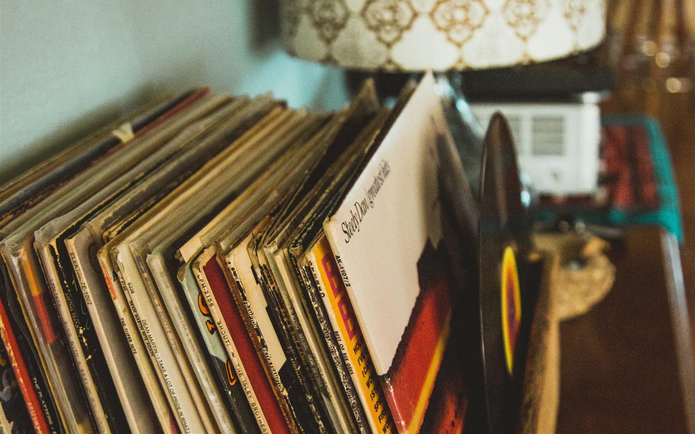 Fonds D 233 Cran R 233 Tro Style Collection De Disques Vinyle