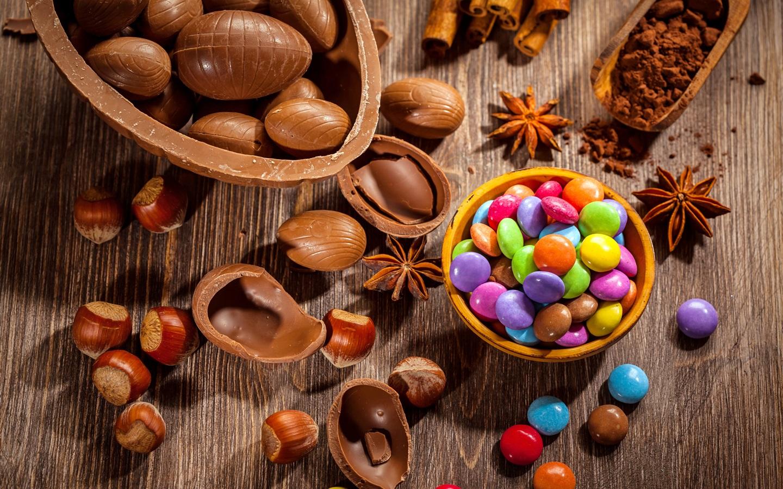 Fondos De Pantalla De Chocolates: Chocolate, Pastillas De Colores Dulces Fondos De Pantalla