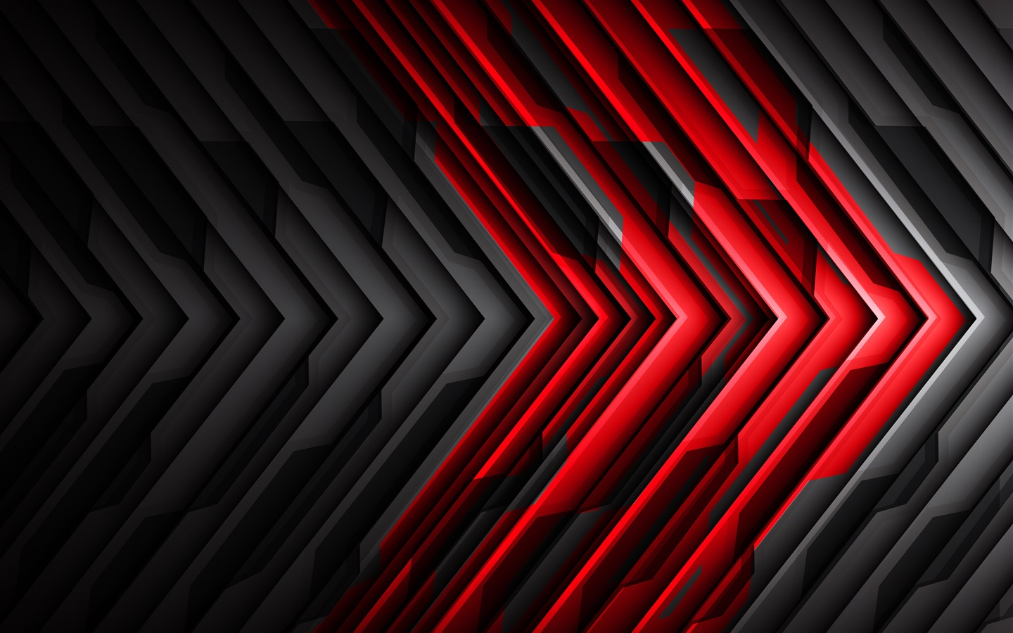 Fondos de pantalla flecha de rayas negras y rojas - Black red abstract wallpaper ...