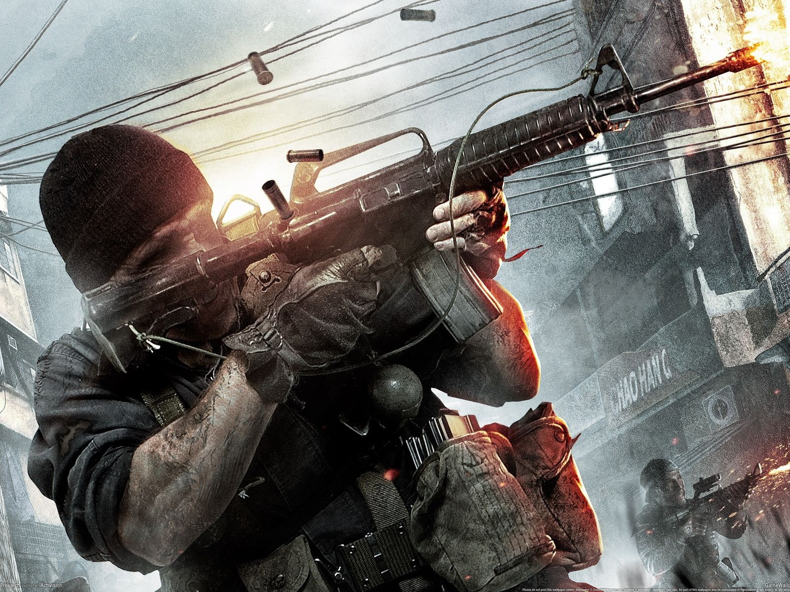 Call of Duty Black Ops HD 1600x1200 Wallpapers hd black ops