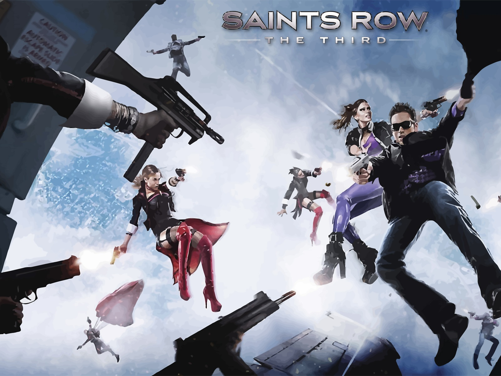 Saints Row Gat Out Of Hell HD Wallpapers Background Images