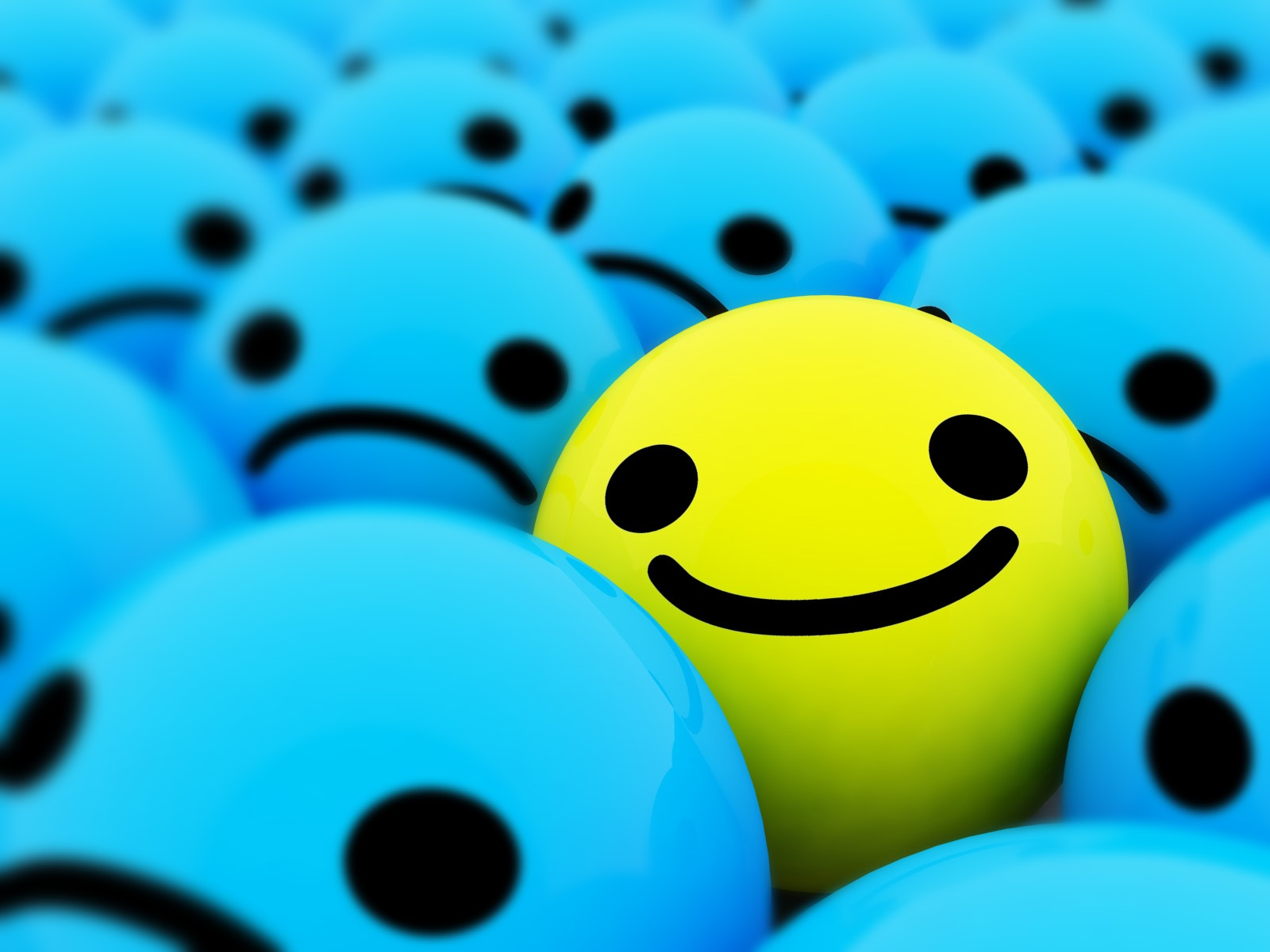 Happy smiling faces 3D Wallpaper | 1600x1200 resolution ...
