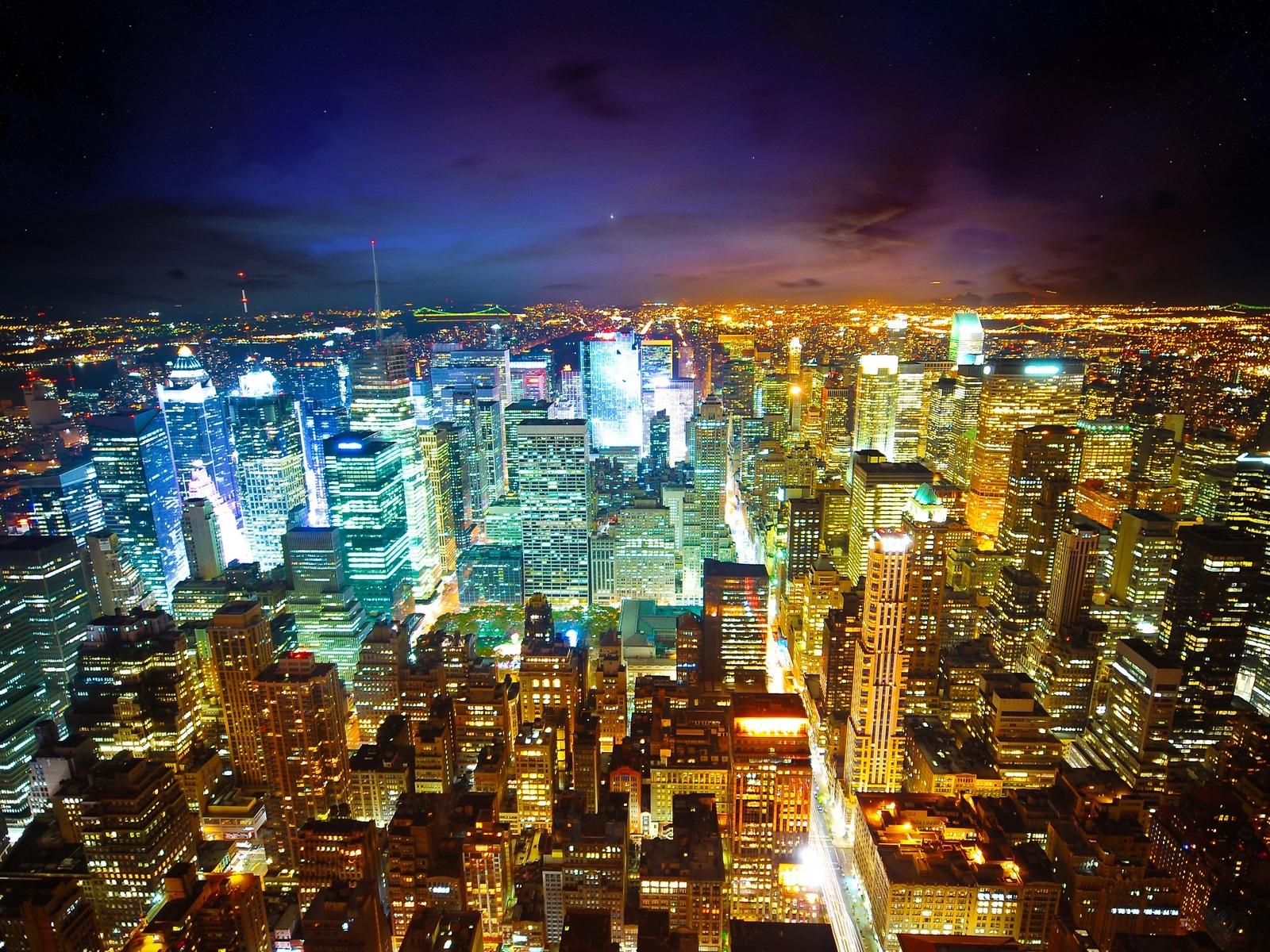 Paris stadt bei nacht hintergrundbilder 1600x1200