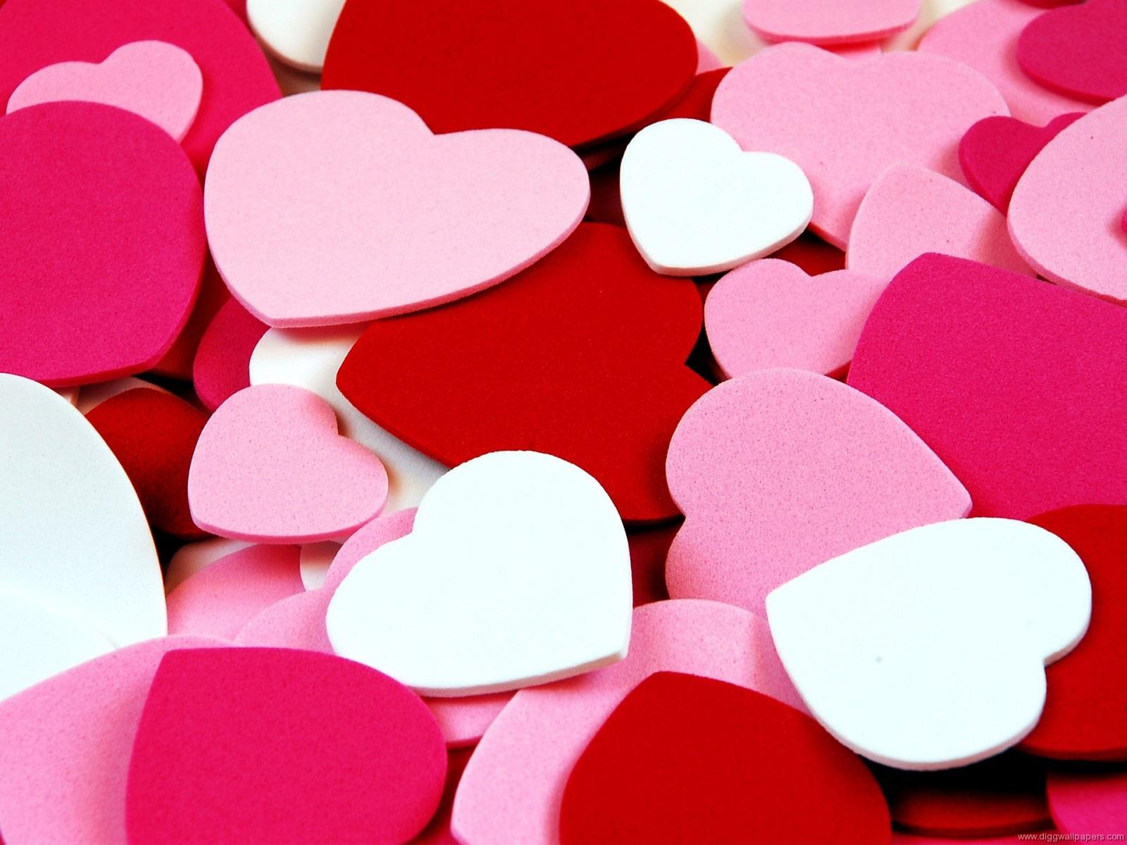 Fonds D'écran L'amour En Forme De Cœur De Fond 1600x1200