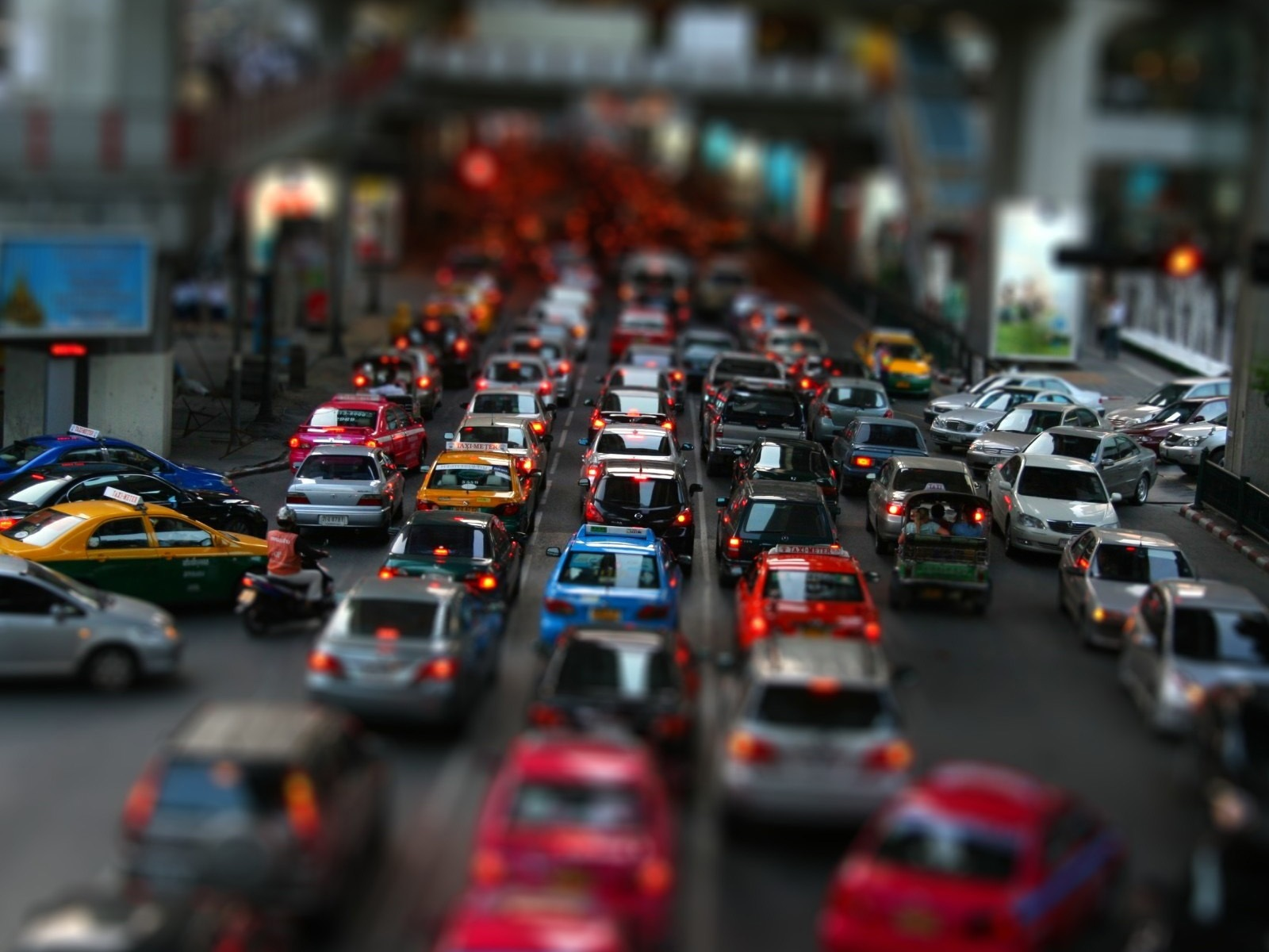 Wallpaper Street Car Traffic Jam 1920x1200 HD Picture, Image