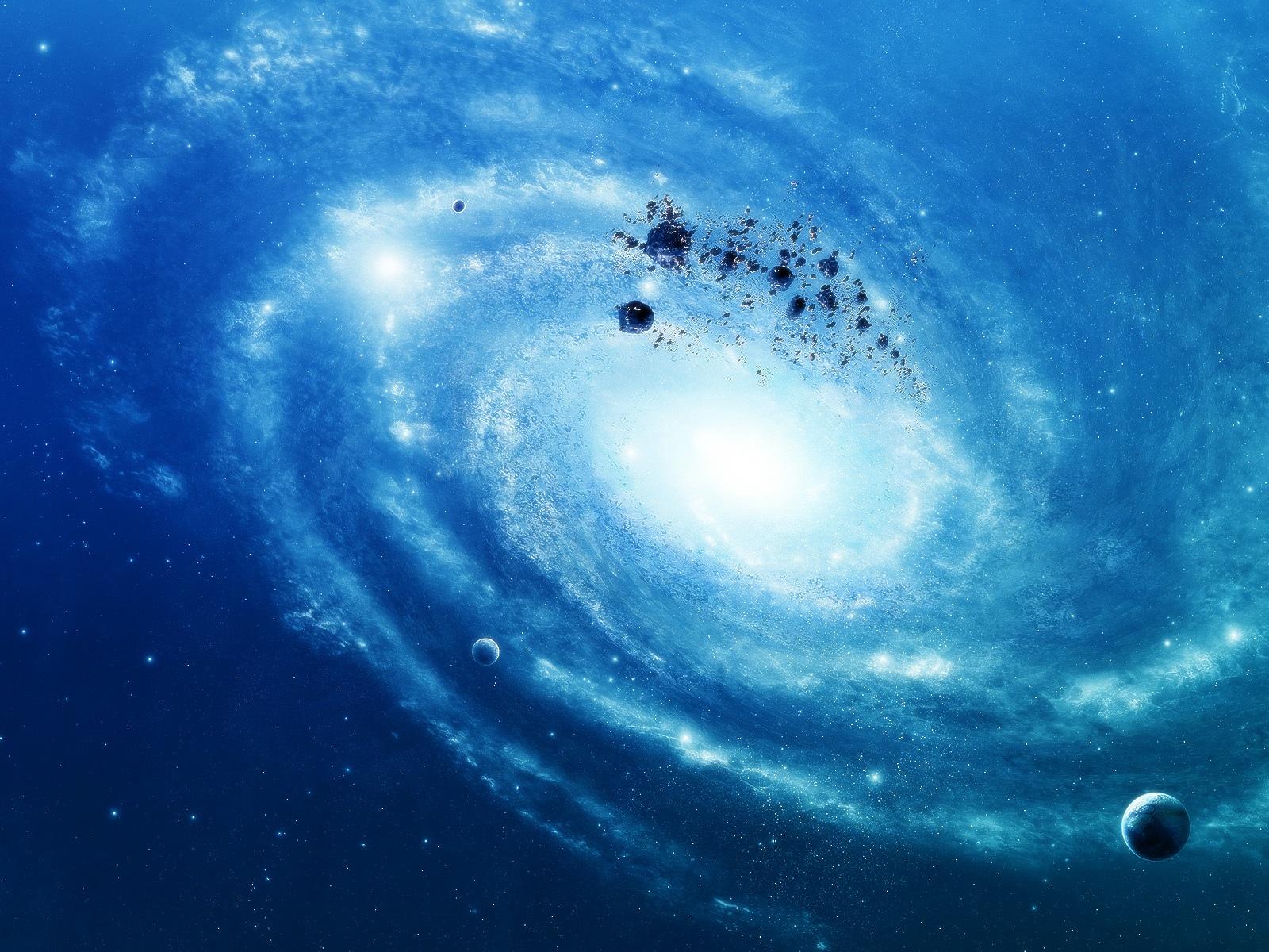 Pantalla 1600x1200 Fondos De Descarga Estrellas Azules Galaxia Fondos