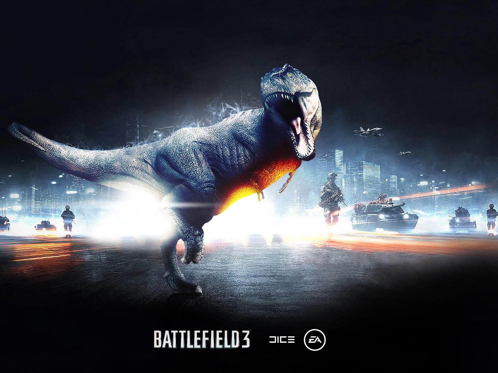 Dinosaur in Battlefield 3 Wallpaper | 1600x1200 resolution ...
