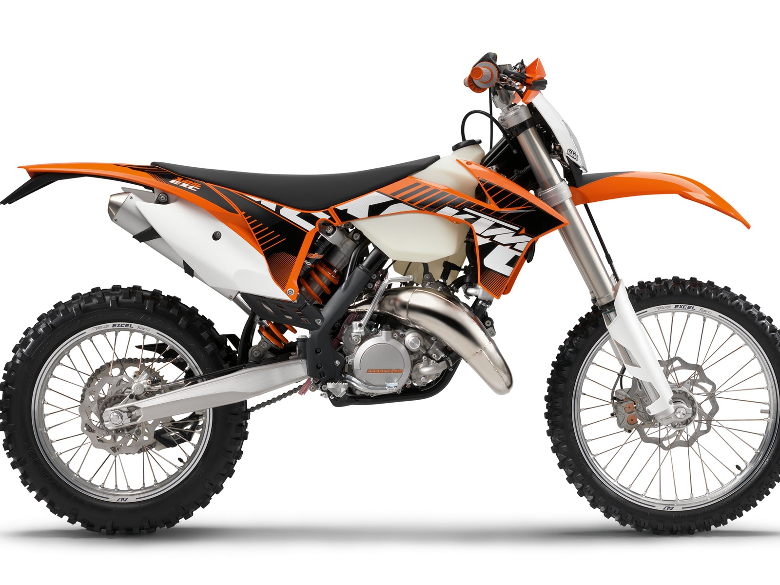 KTM Offroad 125 EXC motorcycle 2012 wallpaper - 1600x1200