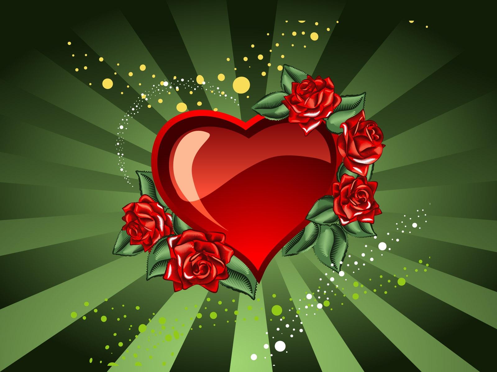Sankt Valentinstag Herz Hintergrundbilder   1600x1200