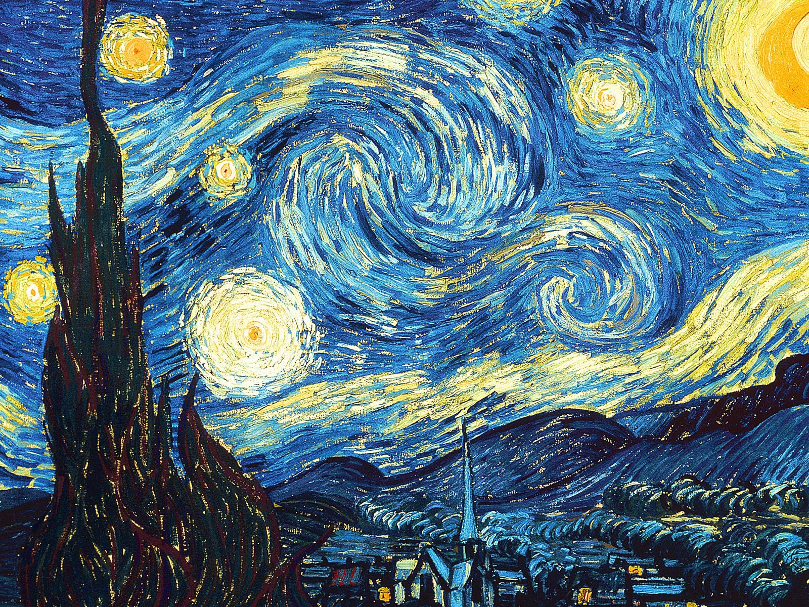 Vincent Van Gogh The Starry Night Vincent Van Gogh Starry Night
