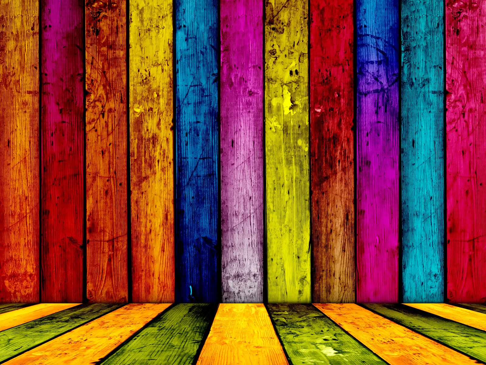 Abstract multicolor rainbows black background wallpaper ...