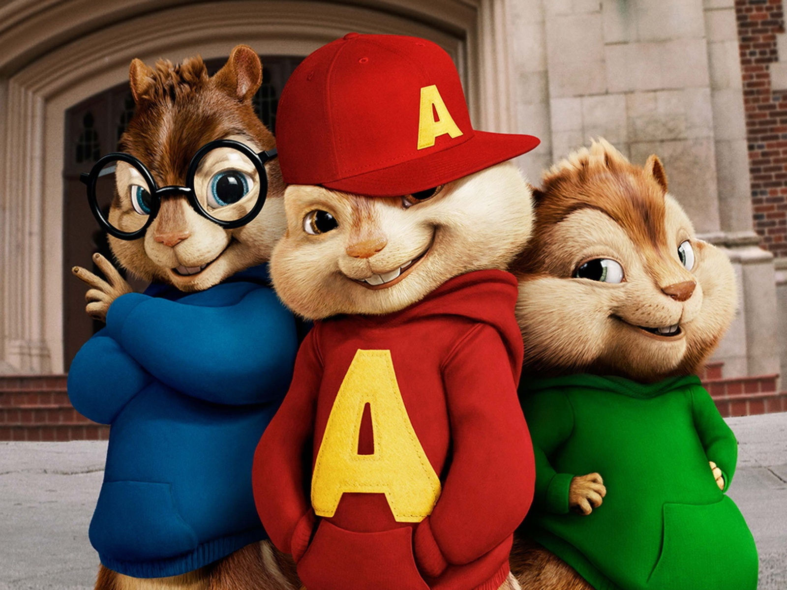 Wallpaper Alvin And The Chipmunks Movie Wide 1920x1200 Hd Picture