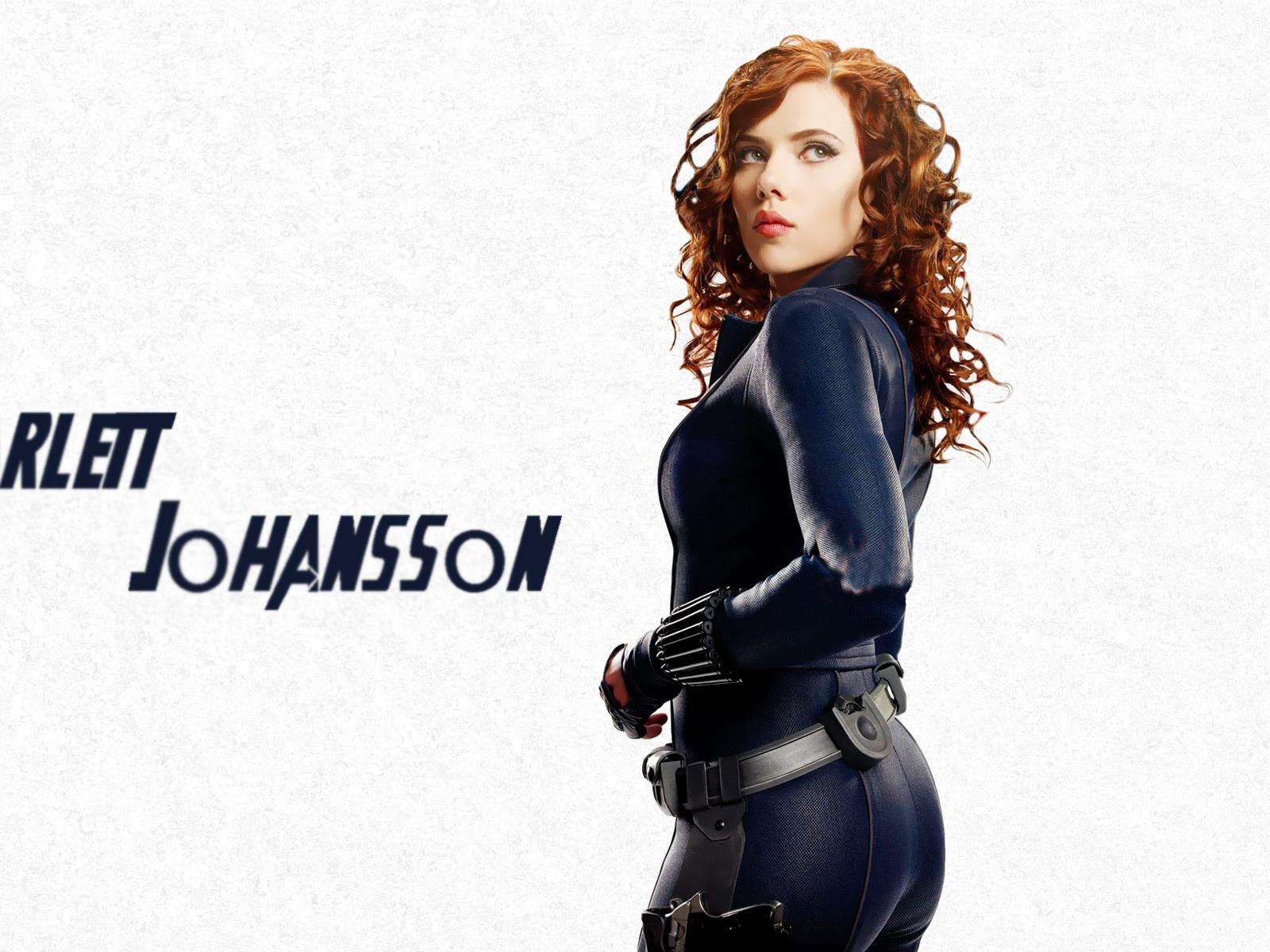 Os Vingadores Scarlett...