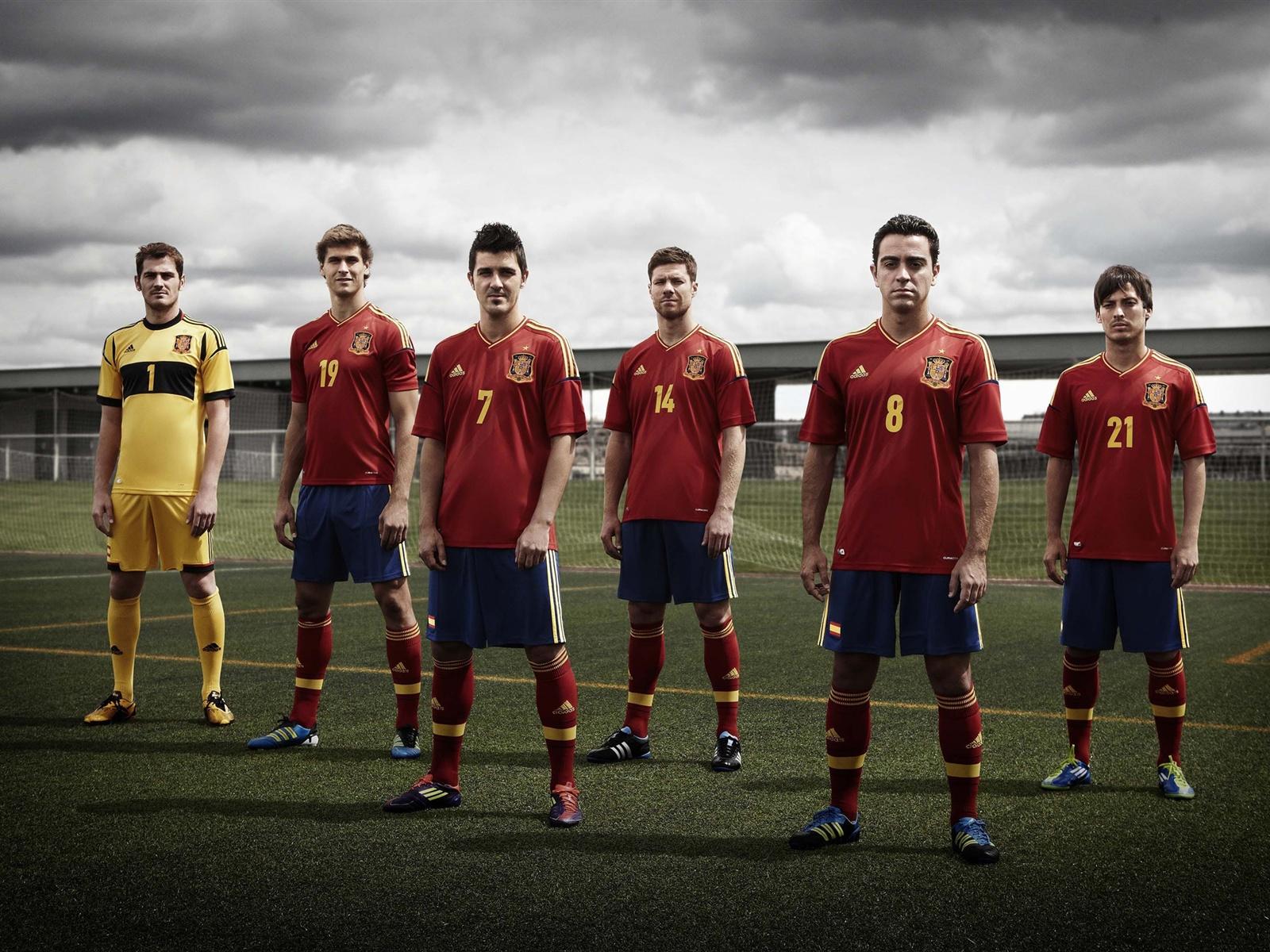 西班牙队2012欧锦赛 壁纸 - 1600x1200