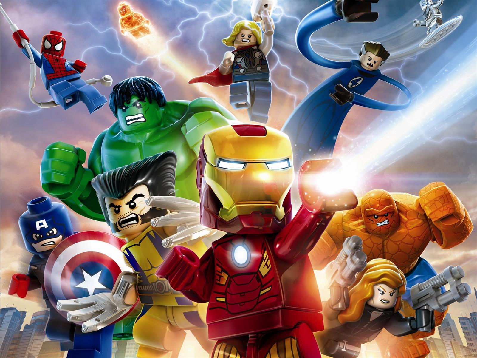 乐高marvel超级英雄 壁纸 - 1600x1200