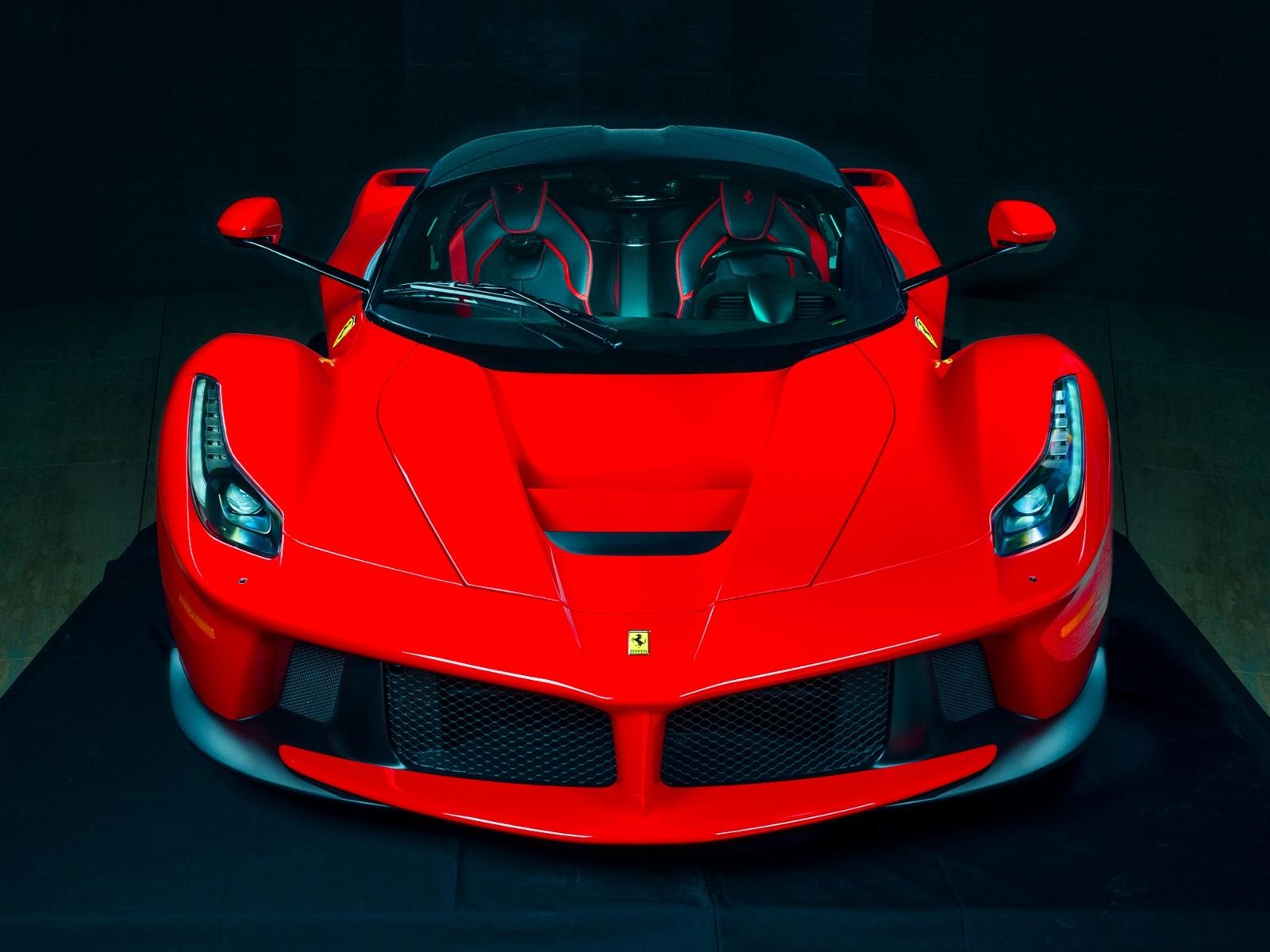Hintergrundbilder Beschreibung Ferrari Ferrari Laferrari roten