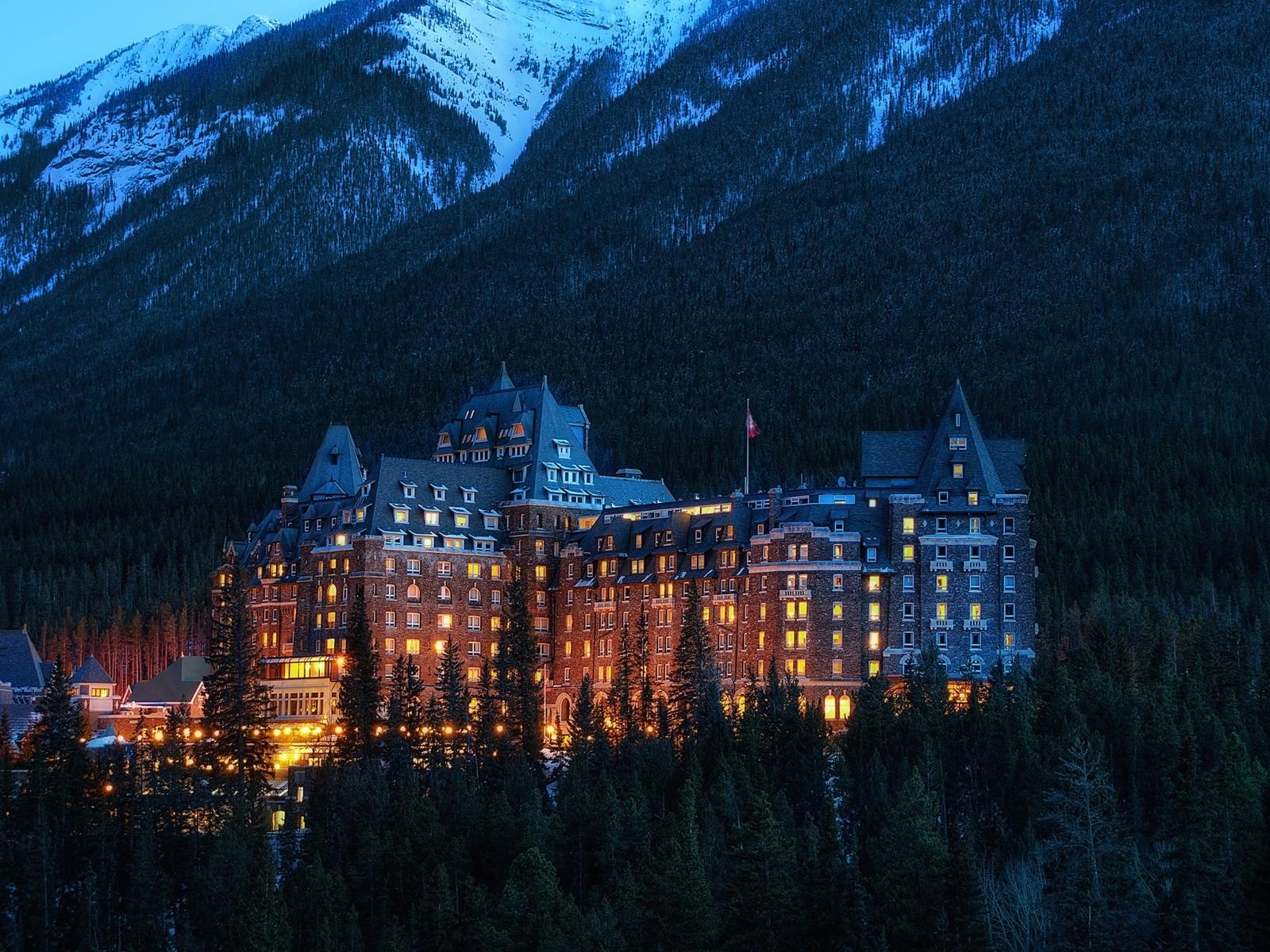 Hintergrundbilder Beschreibung Alberta Banff Nationalpark Kanada