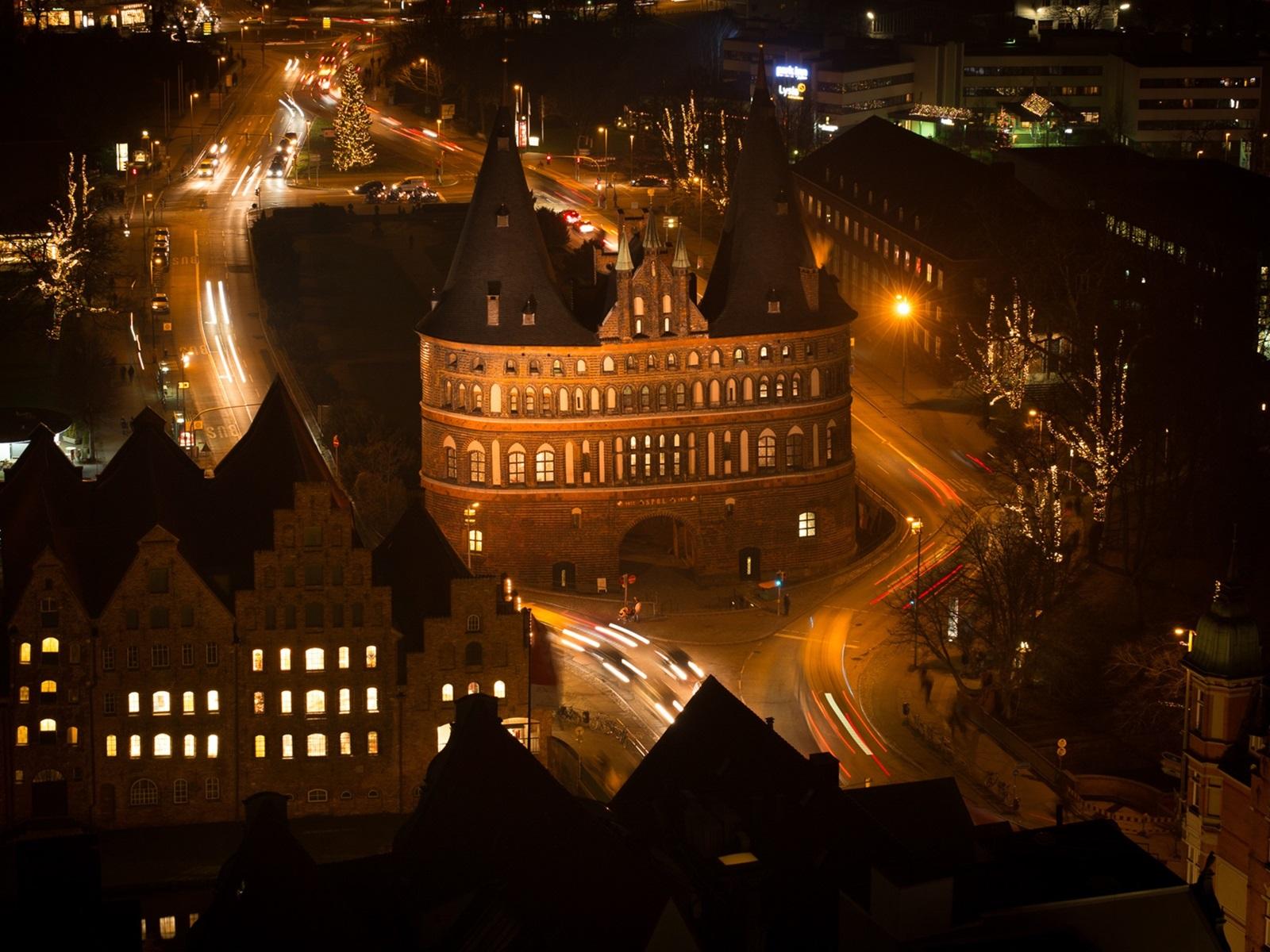 Обои любек, германия, здания, дома. Города foto 14