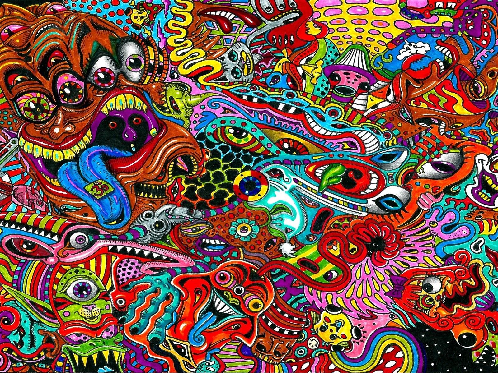 Красивые психоделические картинки