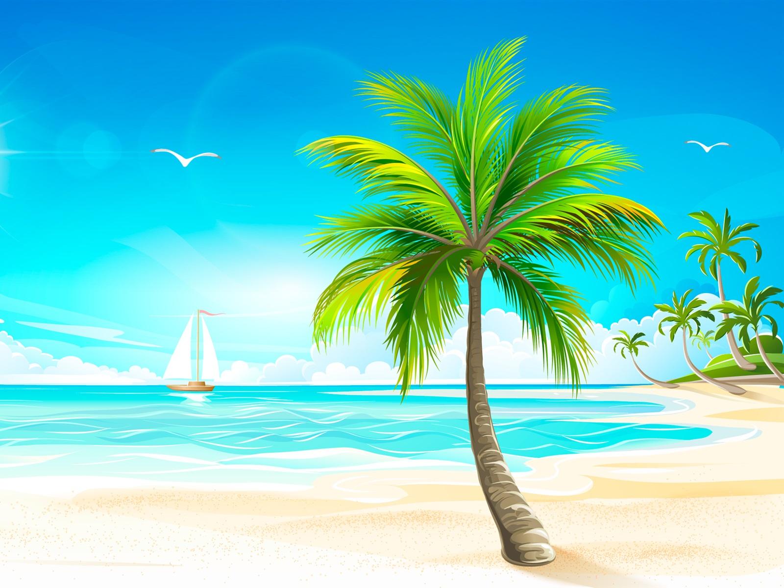 рисунок море солнце пляж простой лего никогда