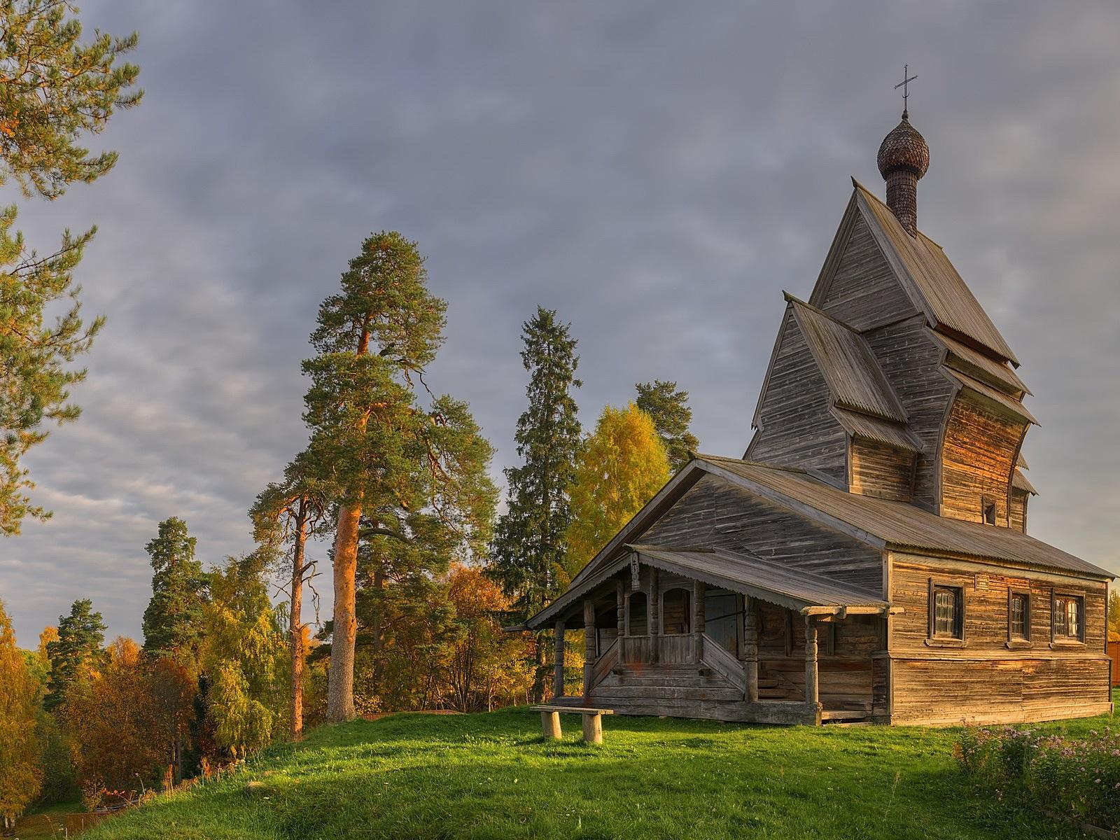 если ветер деревянный монастырь картинки сравнения
