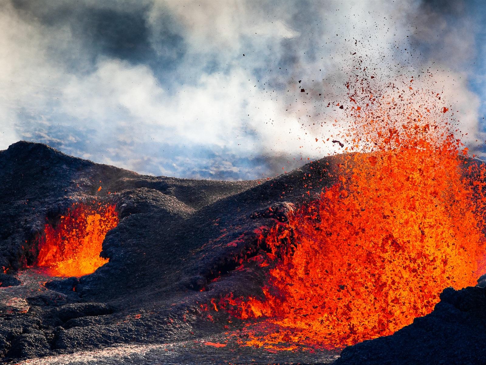 Fondos De Pantalla Grandes Gratis En Hd Gratis Para: Un Gran Volcan Hd 1280x1024 Imagenes Wallpapers Gratis