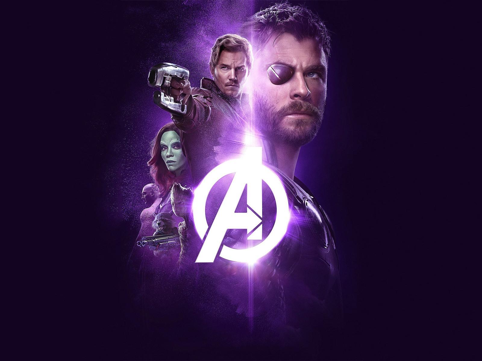 The Avengers: Infinity War, Superheroes, Black Background