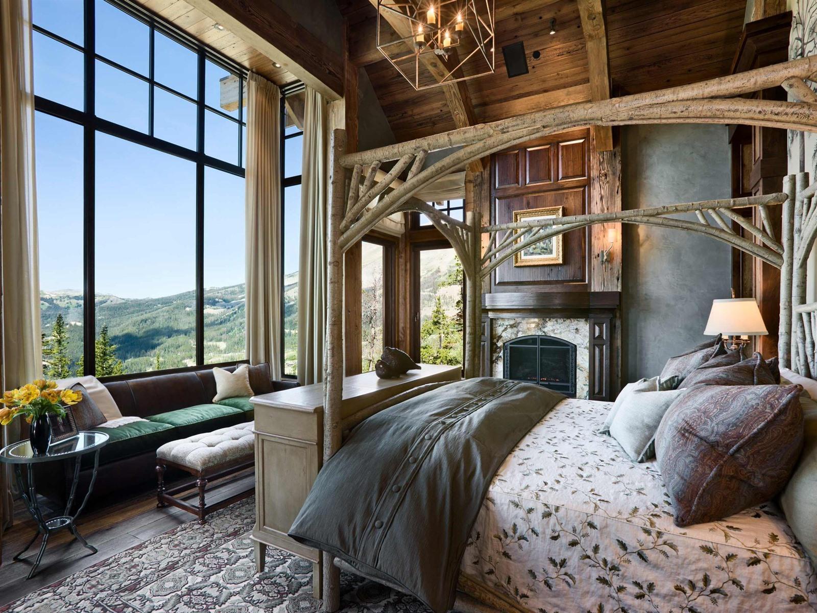 Schlafzimmer Retro Stil Bett Fenster 1920x1200 Hd Hintergrundbilder Hd Bild